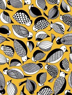 Bantie pattern. paradis_yellow_472x622