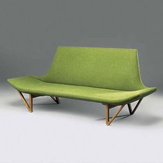 Ejnar Larsen, Sofa for Aksel Bender Madsen, 1950s.