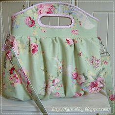 always looooovvveeee flowery fabric, they made the cutest everything | Edita by Katros
