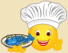 Smiley – Koch Fisch