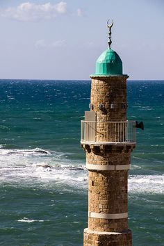 Call to the sea - Al-Bahr Mosque, Jaffa by hjl on Flickr.