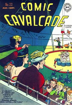 Cover for Comic Cavalcade (DC, 1942 series) #22