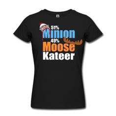 51% Minion 49% MooseKateer Supernatural Shirt