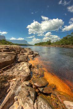 Carrao River, Canaima National Park, Venezuela