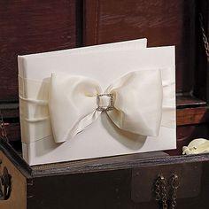 Beverly Clark Duchess Collection Guest Book - #centerofattention #wedding #guestbooks