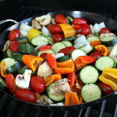 The Stay At Home Chef: Grilled Vegetable Salad