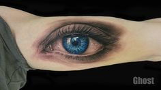realistic eye tattoo by mil5 on DeviantArt