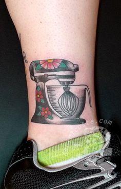 mixer tattoo