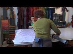 ON GENTLE THREADS 10499 - YouTube - an incredibly inspiring film that takes you from sheep to dyeing to a wide variety of wet felted techniques that this young woman uses to create very imaginative art in felt.