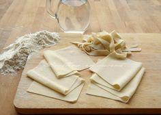Pasta fresca senza uova & link para dvs receitas italianas lights