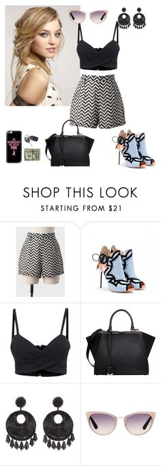 """""""I never wanna live without it"""" by dearme-xoxo on Polyvore featuring moda, Sophia Webster, Fendi, Kenneth Jay Lane, Tom Ford e Casetify"""