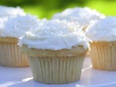 Ina Garten (Barefoot Contessa) Cream Cheese Frosting. 1 lb room temperature cream cheese, 3/4 lbs of unsalted butter, 1 tsp vanilla extract, 1/2 tsp almond extract, and 1.5 lbs sifted confectioner's sugar.