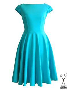 Szyjemy Sukienki: Lazurowa