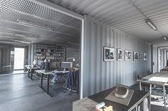 Minha Casa Container  Escritório em container feito para mudar de lugar - Minha Casa Container