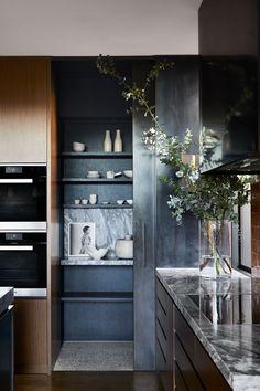 Studio Kitchen, Kitchen Design, Flack Studio, Smart Home Design, Green House Design, Shelving Design, Tiny Spaces, A Boutique, Interior Architecture