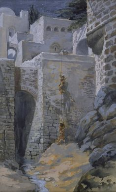 The Flight of the Spies, 1896-1902 - James Tissot