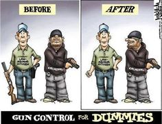 GunControl for dummies humor funny second amendment obama