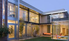 Luxury Home Architecture Glass