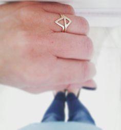 Stackable handmade gold rings by sestre_vitanov (follow us on Instagram)