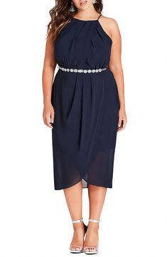 online shopping for City Chic Wrap Love Belted Dress (Plus Size) from top store. See new offer for City Chic Wrap Love Belted Dress (Plus Size) Cocktail Dresses With Sleeves, V Neck Cocktail Dress, Belted Dress, Chiffon Dress, Plus Size Dresses, Dresses For Work, Wrap Dresses, V Neck Wedding Dress, Different Dresses