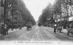 L'avenue de Clichy avec le kursaal