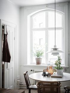 my scandinavian home: A Small Swedish Space That Will Make You Want to Downsize! #diningroom #swedish #scandinaviandesign #scandinavianhome