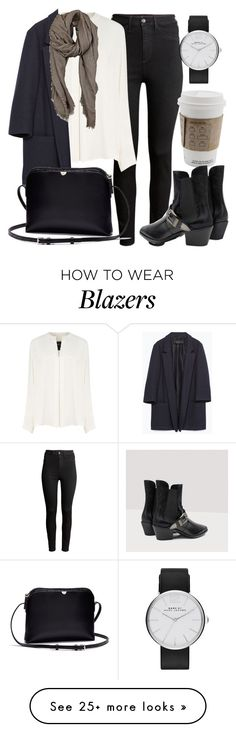 """""""Untitled #4782"""" by laurenmboot on Polyvore featuring H&M, Derek Lam, Zara, The Row, Franco Ferrari and Marc by Marc Jacobs"""