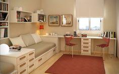 un diseño muy elegante en este dormitorio