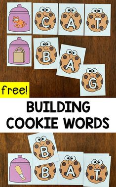 Building Cookie CVC Words