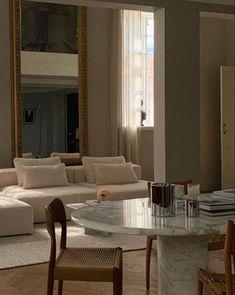 Home Interior Design, Interior Architecture, Room Interior, Living Room Decor, Living Spaces, Decor Room, Living Rooms, Dream Apartment, Aesthetic Rooms