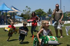 Nascar Party- great idea for active kids!