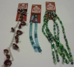 BEAD GALLERY BEADS LOT OF 3 LOVELY BEAD STRANDS NEW LOT # 5 #BeadGallery