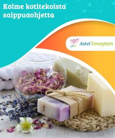 Kolme kotitekoista saippuaohjetta Luonnonsaippuoissa ei ole haitalisia kemikaaleja. Tee itsellesi sopiva oma saippua kotona, helposti ja nopeasti. Diy Shampoo, Shampoo Bar, Diy Bar, Soap Recipes, Home Made Soap, Natural Medicine, Organic Beauty, Bar Soap, Soap Making