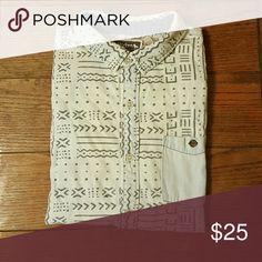 Vintage Modern amusement short sleeve shirt Modern amusement mens short sleeved cozy soft cool hip shirt! modern amusement Tops Button Down Shirts