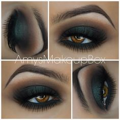 Smokey Makeup for Brown Eyes