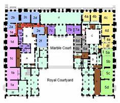 belle etage versailles schloss grundrisse pinterest grundrisse. Black Bedroom Furniture Sets. Home Design Ideas