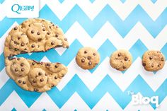 Healthy-ish cookie recipe Questify: Chocolate Chip Cookies!