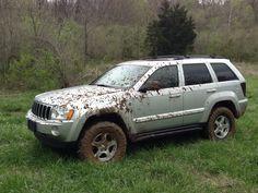 "05 Grand Cherokee 4"" lift 33"" Toyo Tires 5.7 HEMI"