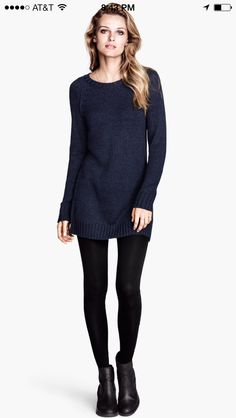 Sweater dress H&M