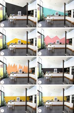 Choosing the right paint color with Intensely Colors of Zolpan [article sponsorisé] Article Gallery Ideas] Bedroom Colors, Bedroom Decor, Wall Decor, Room Interior, Interior Design Living Room, Wall Design, House Design, Home Staging, New Homes
