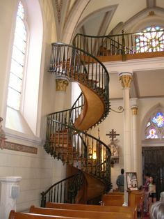 The Loretto Chapel Staircase....