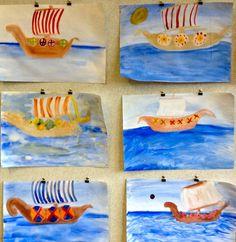 Chalkboard Drawings, Chalkboard Art, Wet On Wet Painting, Art Classroom Management, Mythology Paintings, Enchanted Learning, Form Drawing, Norse Mythology, Art Lesson Plans
