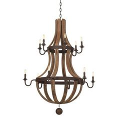 Check out this item at One Kings Lane! Aragon 14-Light Chandelier, Iron
