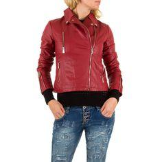 24,99 € - Coole Damen Kunstlederjacke mit raffinierten Zip-Details. Die Jacke im angesagten Biker-Stil ist einfach ein Must-Have!