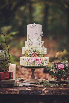 Eye-Catching Unique Wedding Cakes ❤ See more: http://www.weddingforward.com/unique-wedding-cakes/ #weddingforward #bride #bridal #wedding