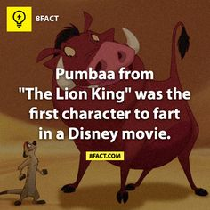 Just in case you didn't know 8 Facts, Movie Facts, Funny Facts, Weird Facts, Random Facts, Crazy Facts, True Facts, Disney Love, Disney Magic
