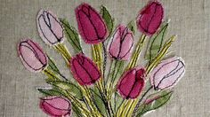 Machine Embroidery with Loopy Linnet 2013