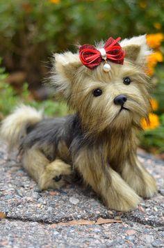 Puppy Lilu! Yorkshire Terrier, York Toy, Toy, Little York, Terrier, Plush Dog