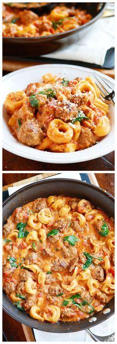 Italian Sausage Tortellini Recipe