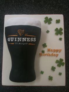 Guinness Birthday Cake.